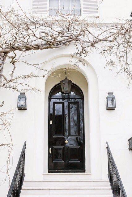 blackovalshiny-door